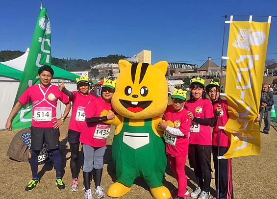 いじゅういん梅マラソン1